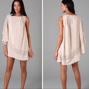 Free People Champagne Brighten Your Day Dress S